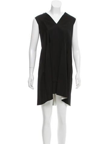 Balenciaga Sleeveless Mini Dress None