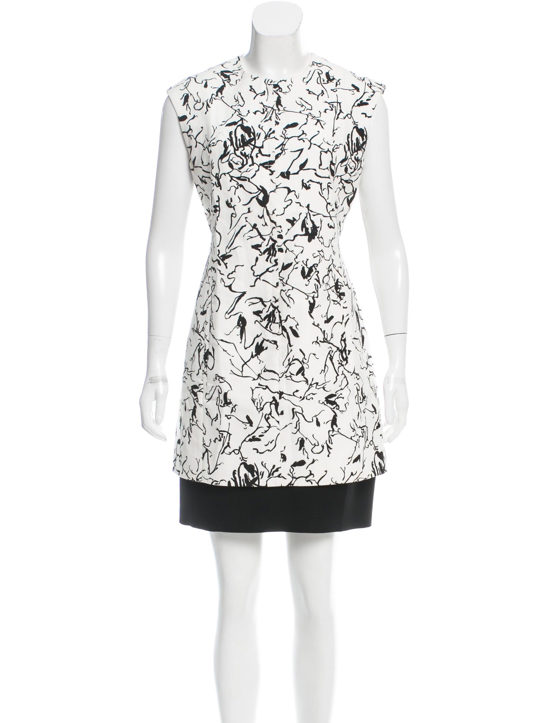 Balenciaga Marble Print Mini Dress - Clothing - BAL46078  e7061c63a0b