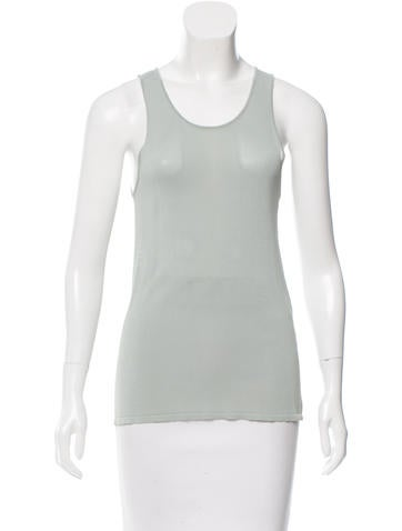 Balenciaga Sleeveless Knit Top None