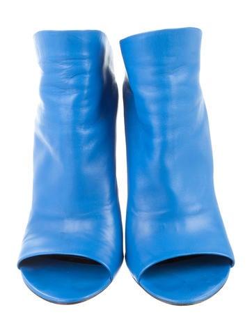Glove Peep-Toe Wedges