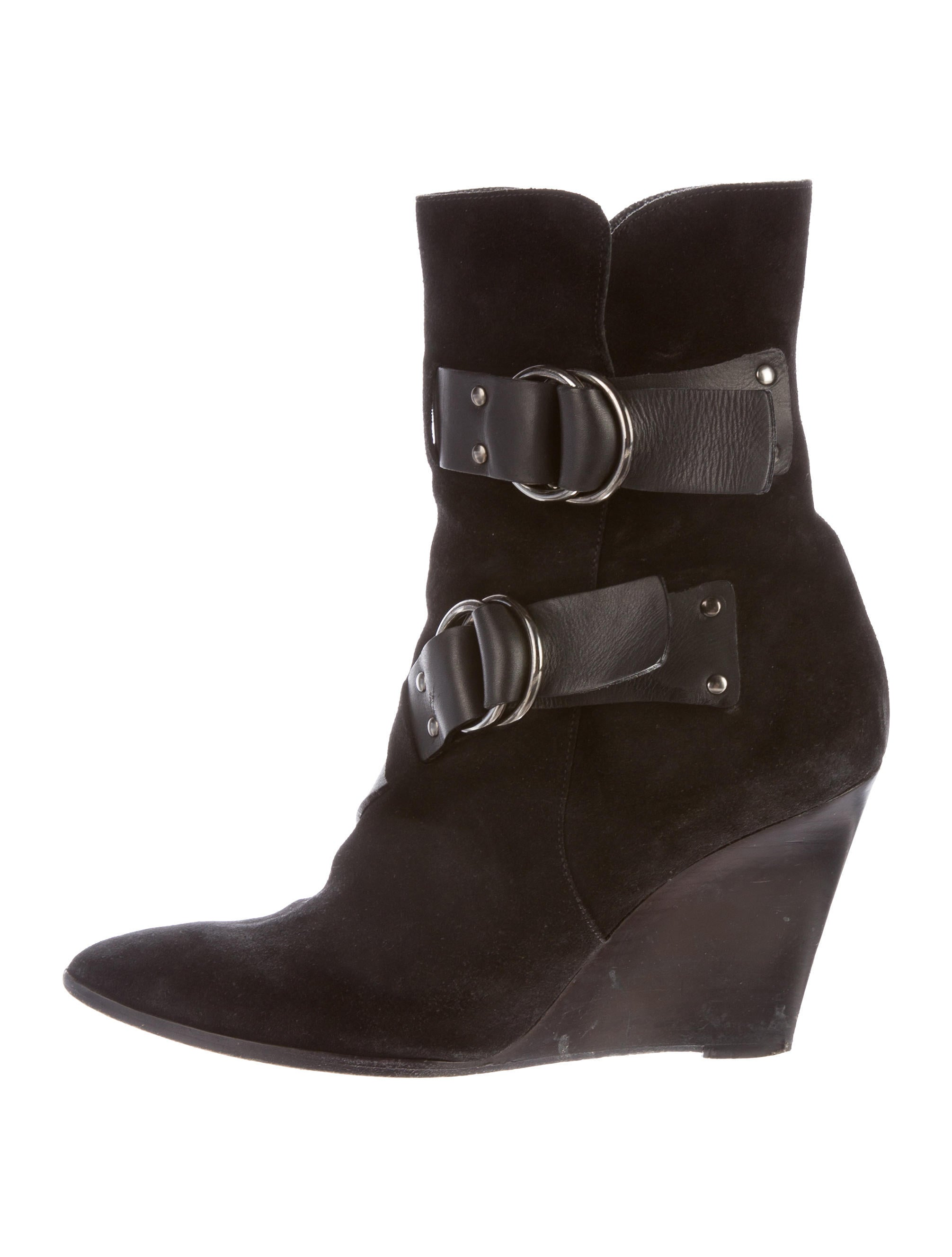 balenciaga wedge ankle boots shoes bal46904 the realreal