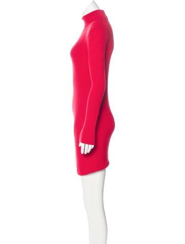 Asymmetrical Knit Dress