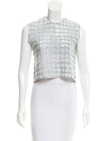 Balenciaga Knit Crop Top None