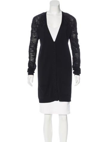 Balenciaga Knit Wool Cardigan None