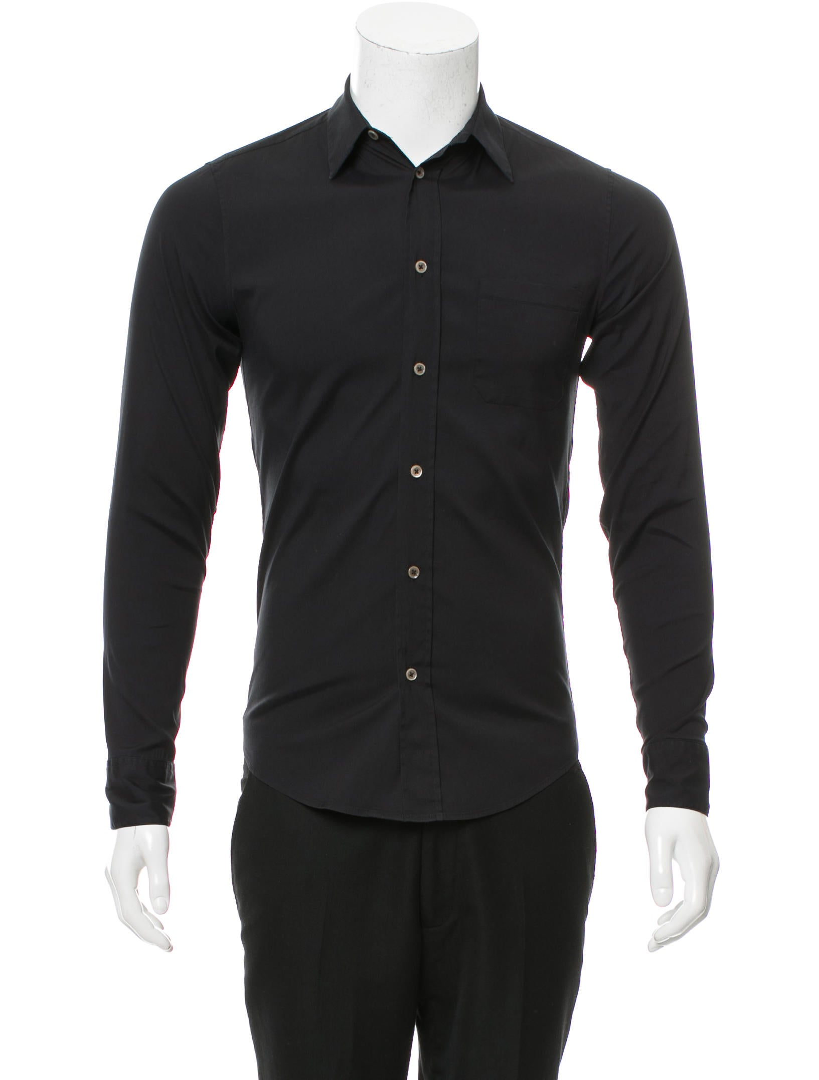 Balenciaga long sleeve button up shirt clothing for Long sweaters and shirts