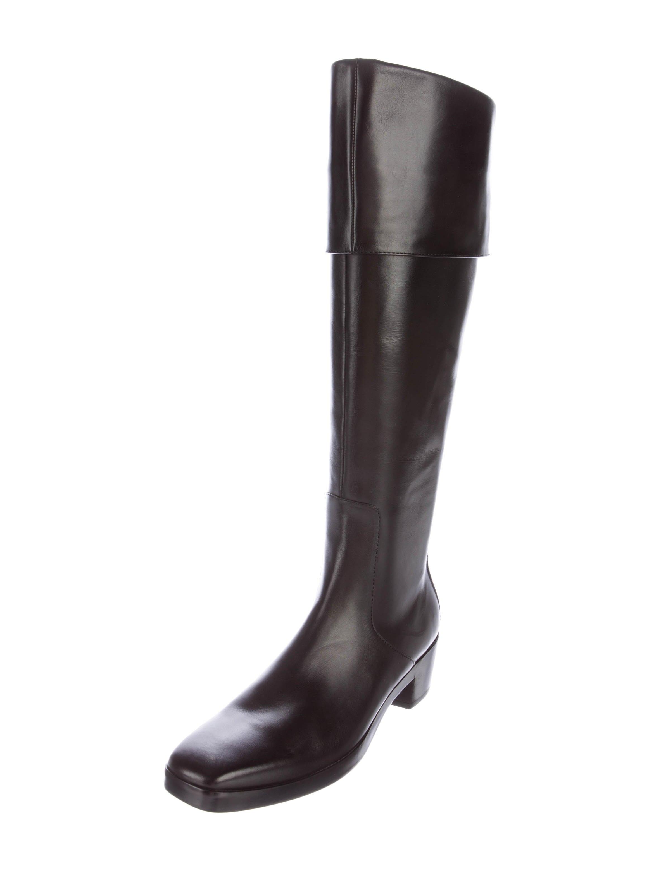 balenciaga leather knee high boots shoes bal49638