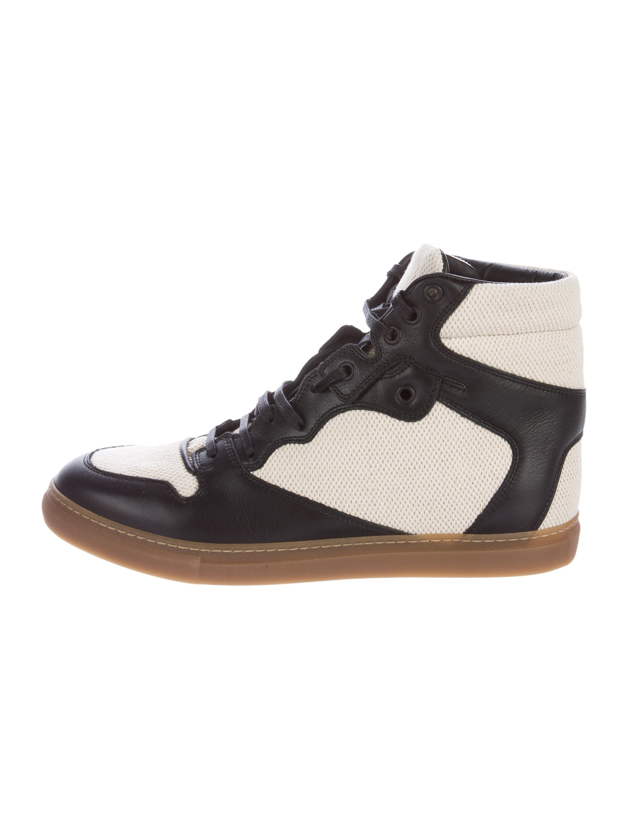 balenciaga leather canvas sneakers w tags shoes