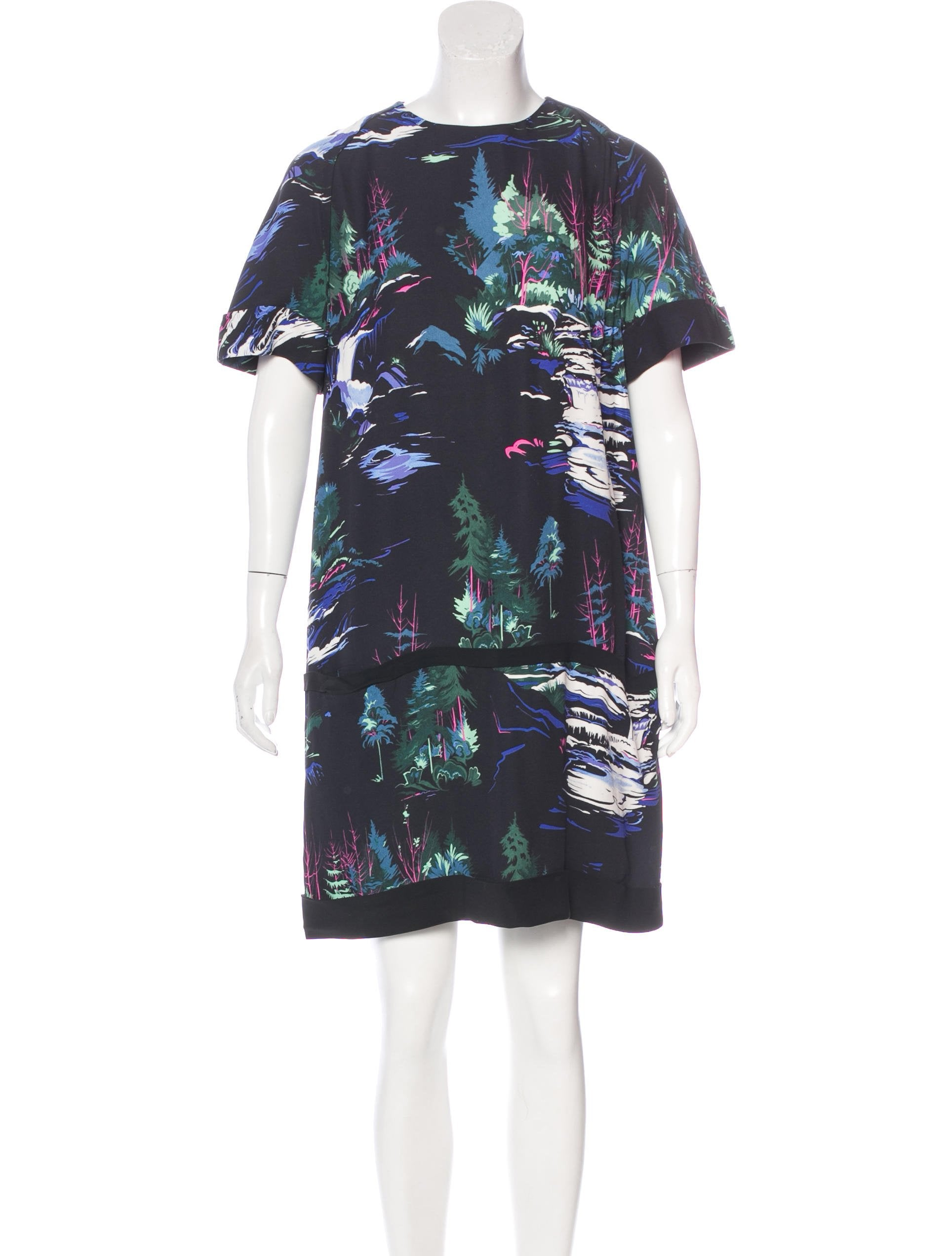 Balenciaga printed short sleeve dress clothing for Printed short sleeve shirts