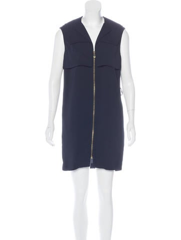 Balenciaga Sleeveless Mini Dress None