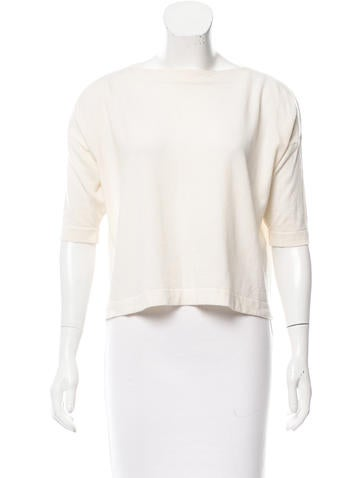 Balenciaga Wool Knit Top None