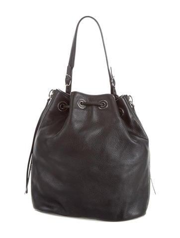 1fdf105001 Balenciaga Papier Plate Side-Zip Bucket Bag - Handbags - BAL51661 ...