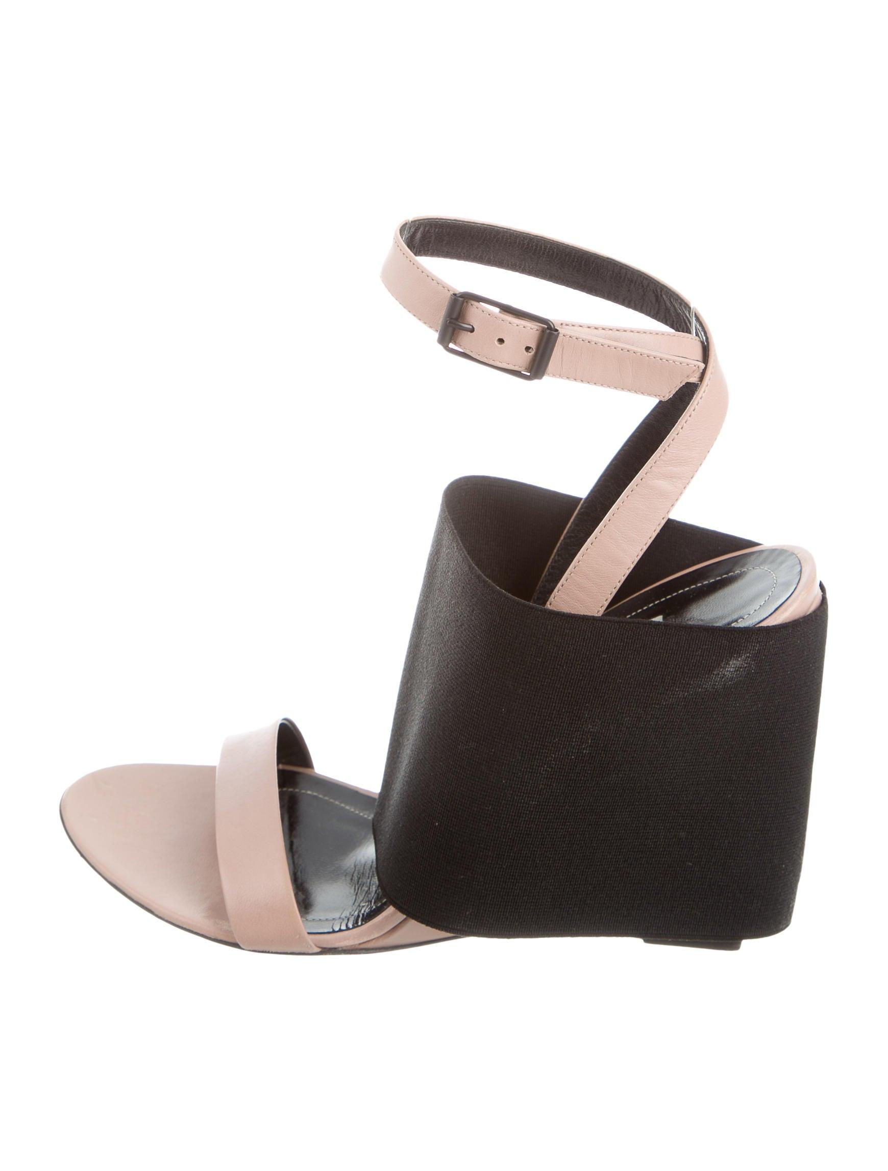 balenciaga prism wedge sandals shoes bal52907 the