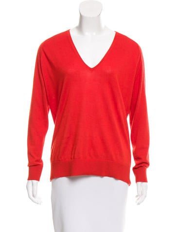 Balenciaga Cashmere V-Neck Sweater None