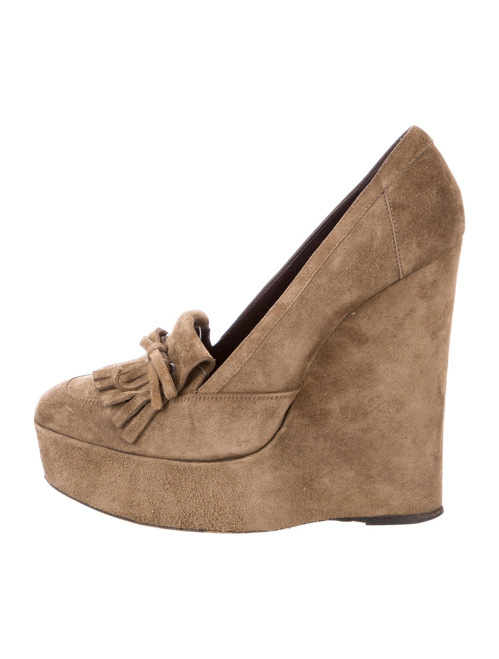 balenciaga suede platform wedges shoes bal53359 the