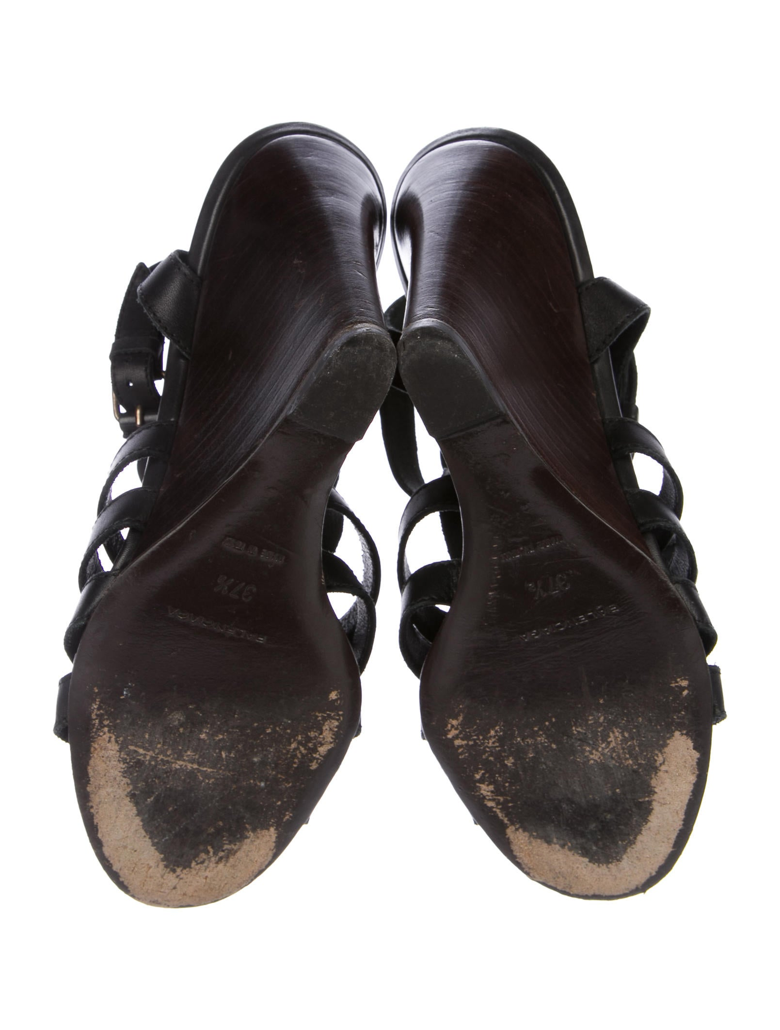 balenciaga cage wedge sandals shoes bal53409 the