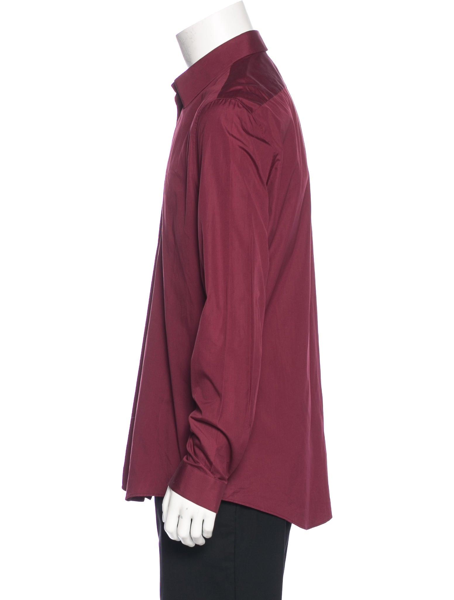 Balenciaga woven dress shirt w tags clothing bal53420 Woven t shirt tags