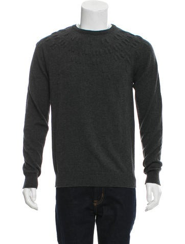 Balenciaga Wool Crew Neck Sweater None