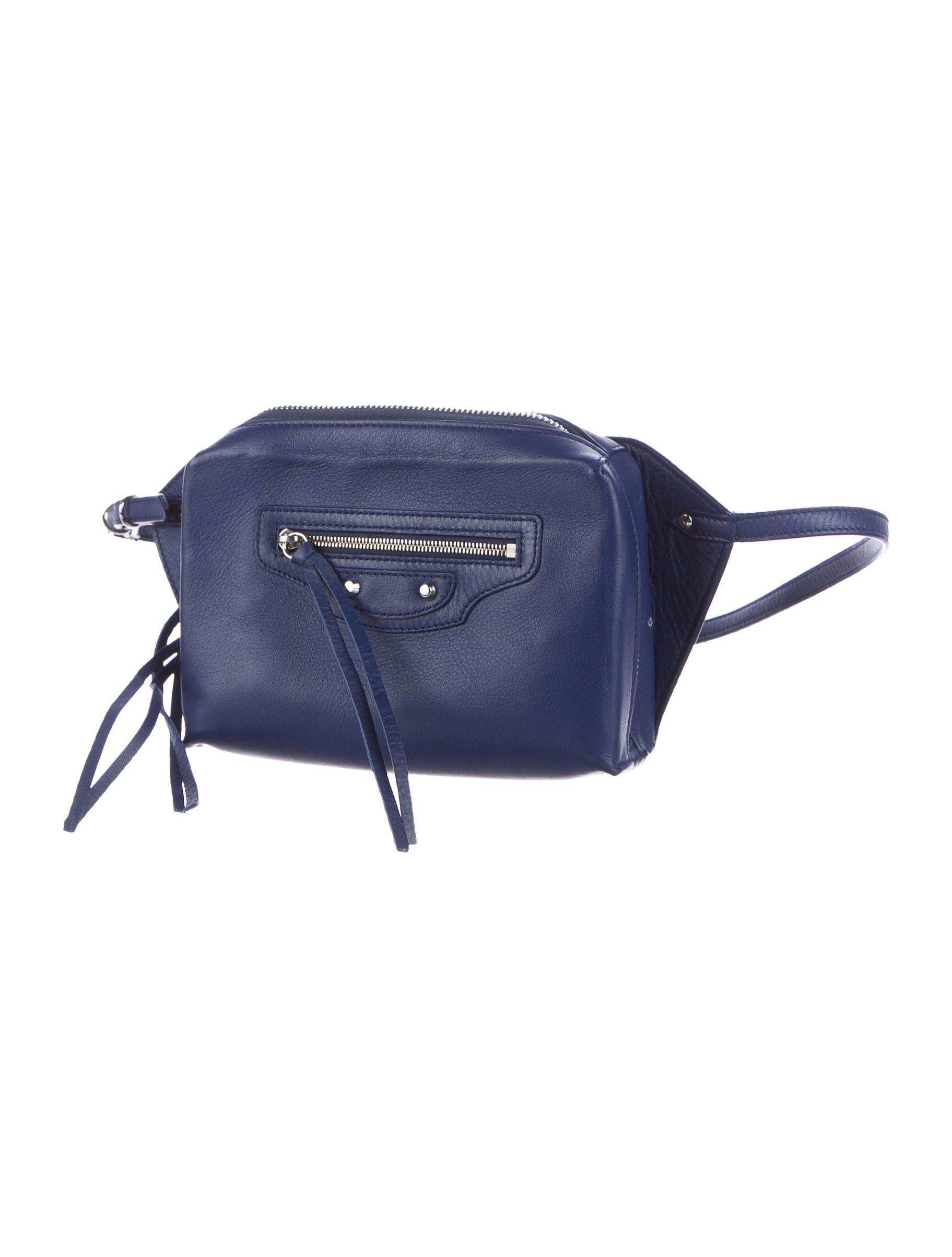 Balenciaga Papier Zip Around Belt Bag