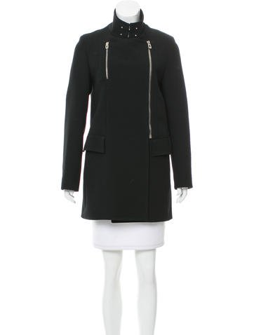 Balenciaga Wool Short Coat None