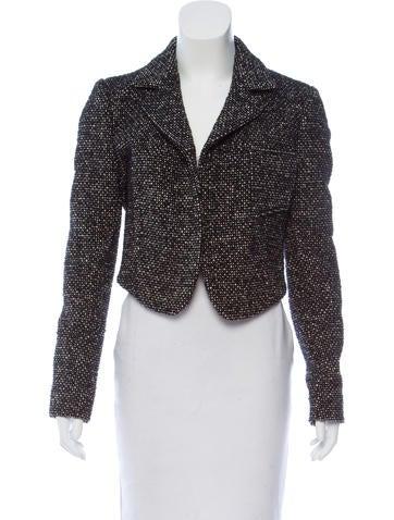 Balenciaga Wool Tweed Blazer None