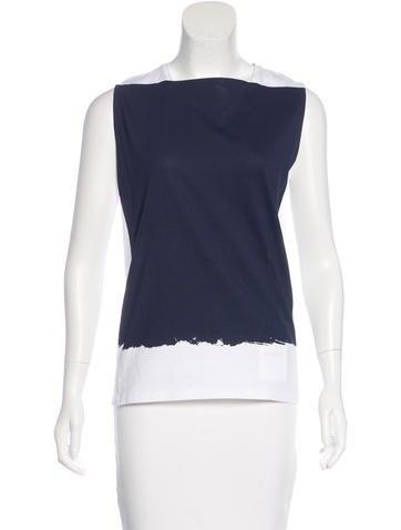 Balenciaga Sleeveless Knit Top w/ Tags None