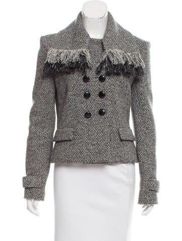 Balenciaga Wool Double-Breasted Jacket None