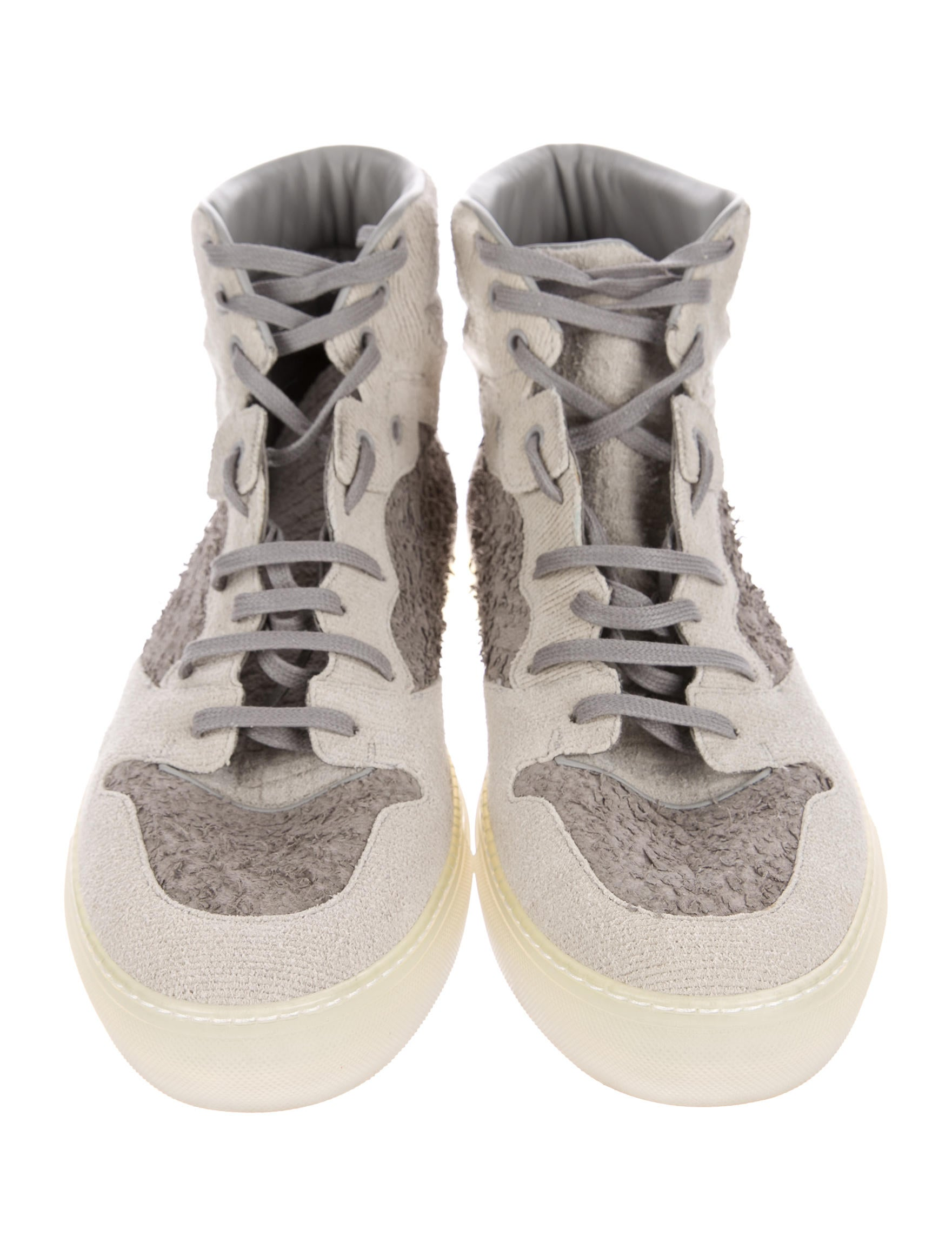 Balenciaga Suede High-Top Sneakers - Shoes - BAL54590 | The RealReal