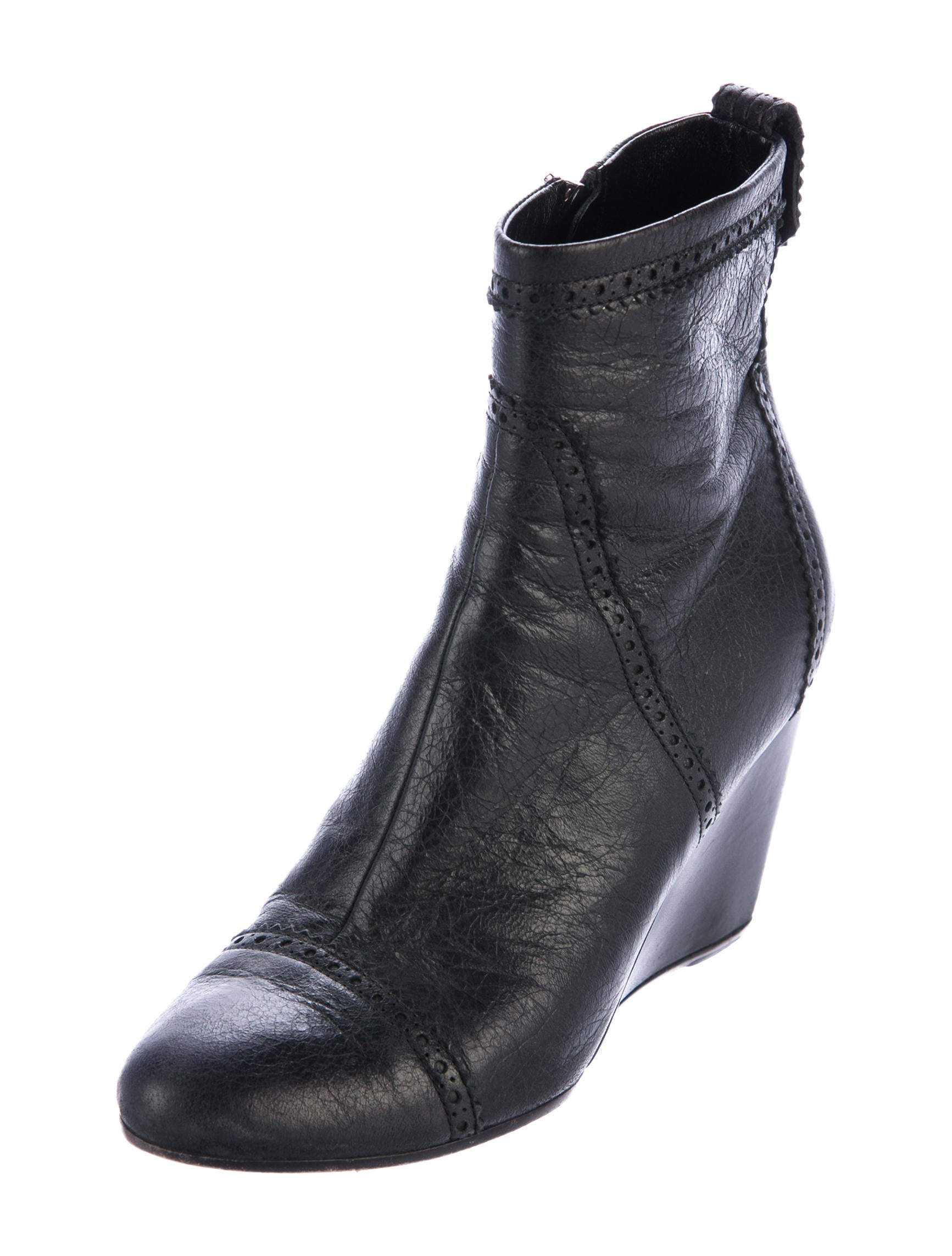 balenciaga leather ankle boots shoes bal54802 the