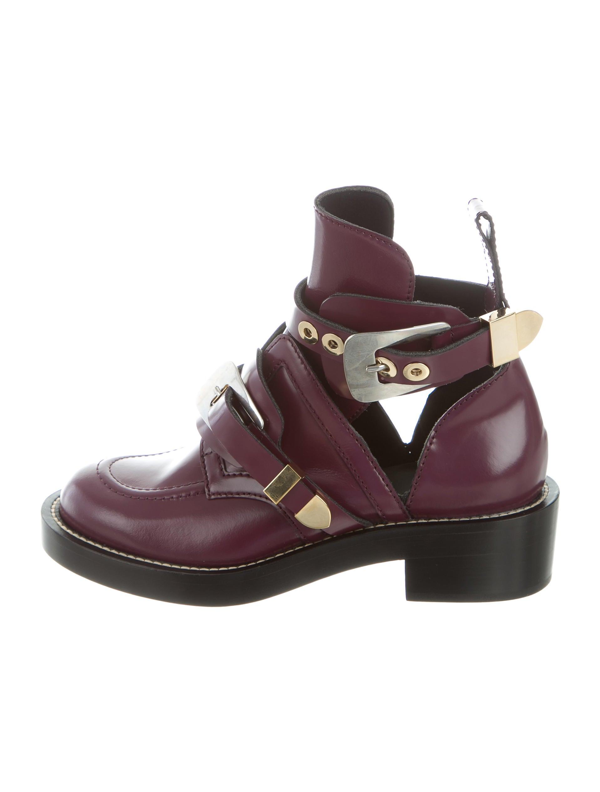 recherche de liquidation taille 40 vente discount Balenciaga Ceinture Ankle Boots w/ Tags - Shoes - BAL54958 ...