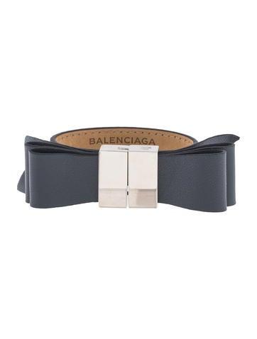 Balenciaga Bow Bracelet None
