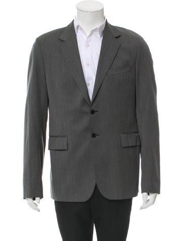 Balenciaga Wool Two-Button Blazer None