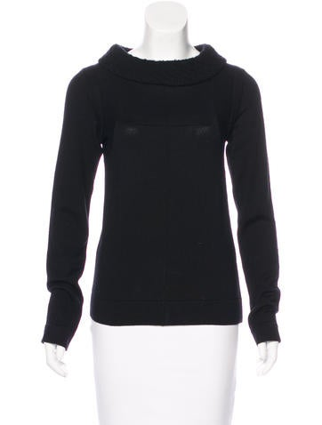 Balenciaga Wool-Blend Knit Sweater None