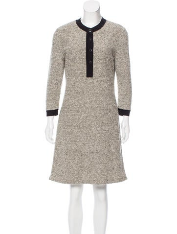 Balenciaga Wool Knit Dress None
