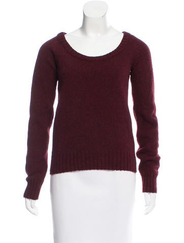 Balenciaga Long Sleeve Wool Sweater None