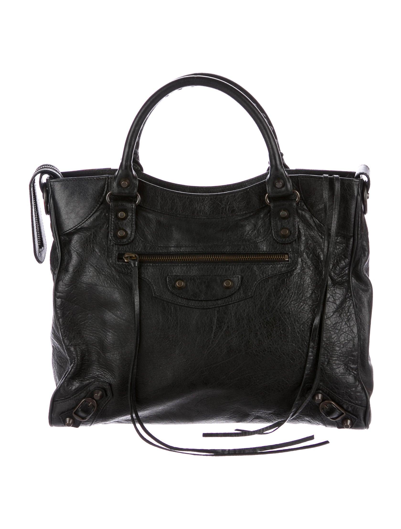 Balenciaga Velo Bag Black