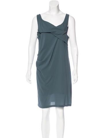 Balenciaga Silk Sleeveless Dress None