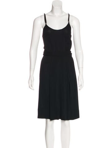 Balenciaga Knit Midi Dress None