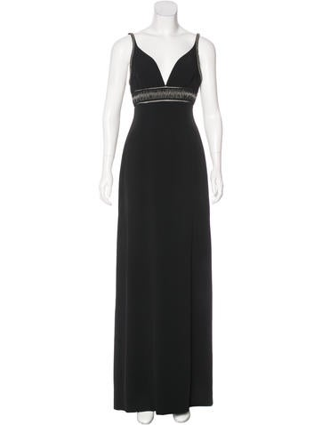 Balenciaga Sleeveless Evening Dress None