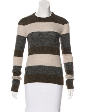 Balenciaga Striped Knit Sweater None