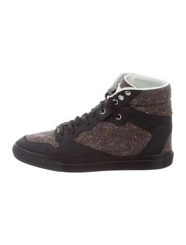 Balenciaga Donegal High-Top Sneakers None