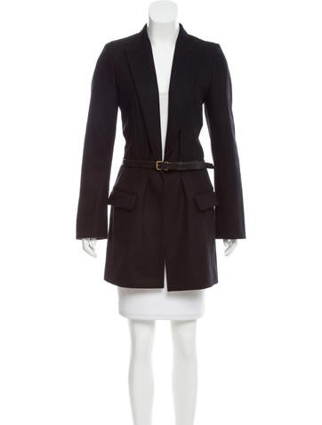 Balenciaga Wool Short Coat None