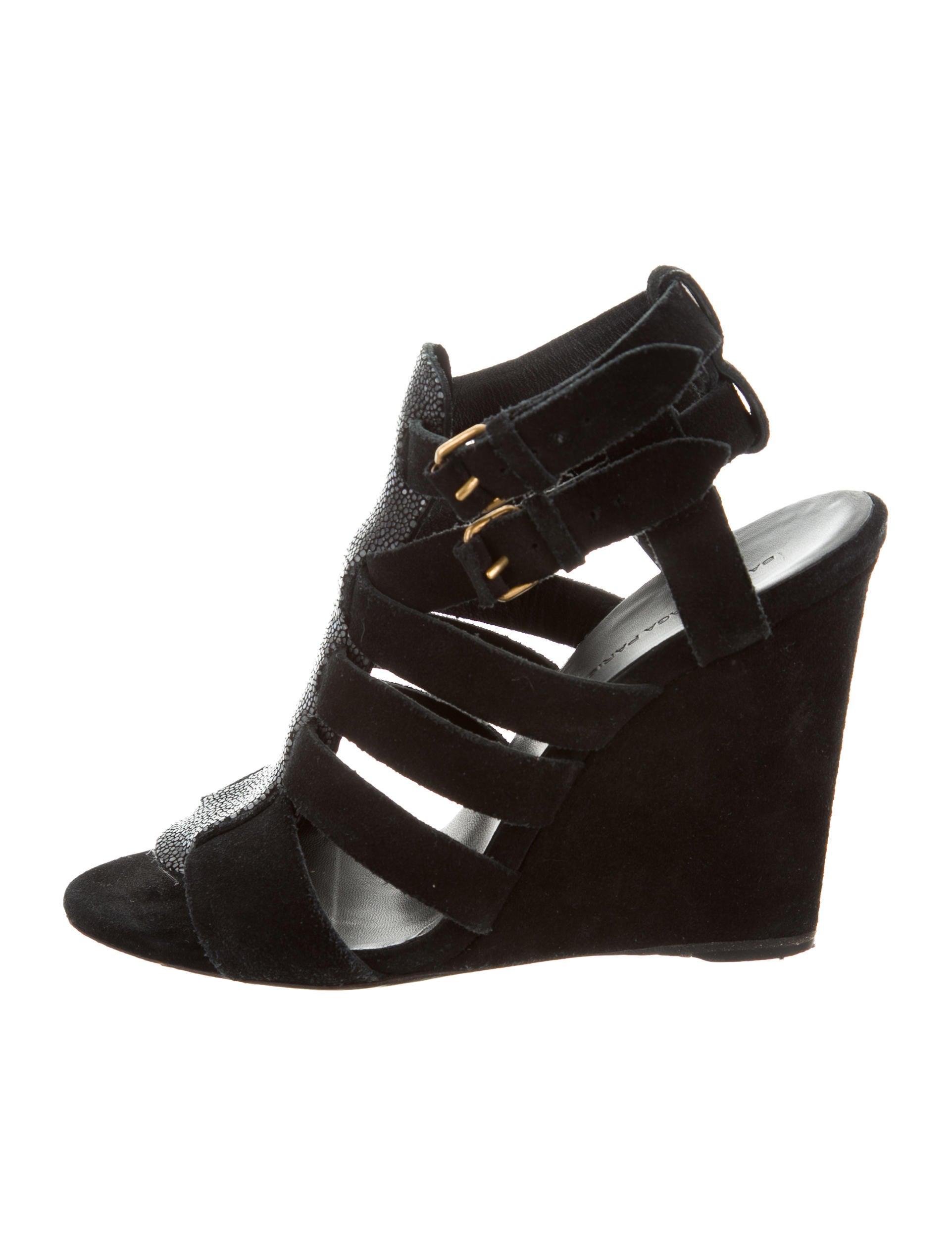 cheap sale new styles Balenciaga Stingray Wedge Sandals Inexpensive cheap top quality where to buy buy cheap ebay TxGSDv