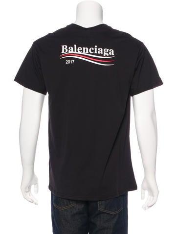 Balenciaga 2017 Political T Shirt W Tags Clothing