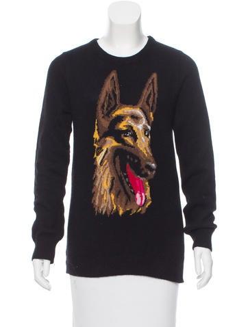 Balenciaga Huelva Intarsia Sweater None