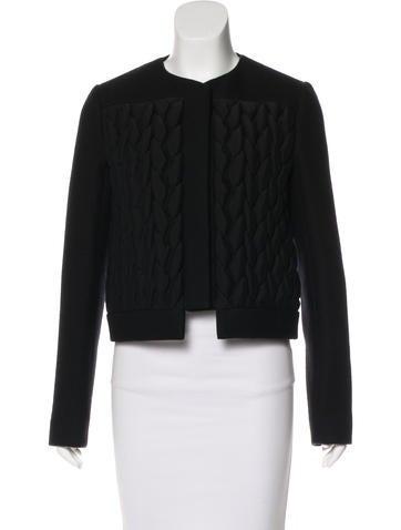 Balenciaga Wool Collarless Jacket None