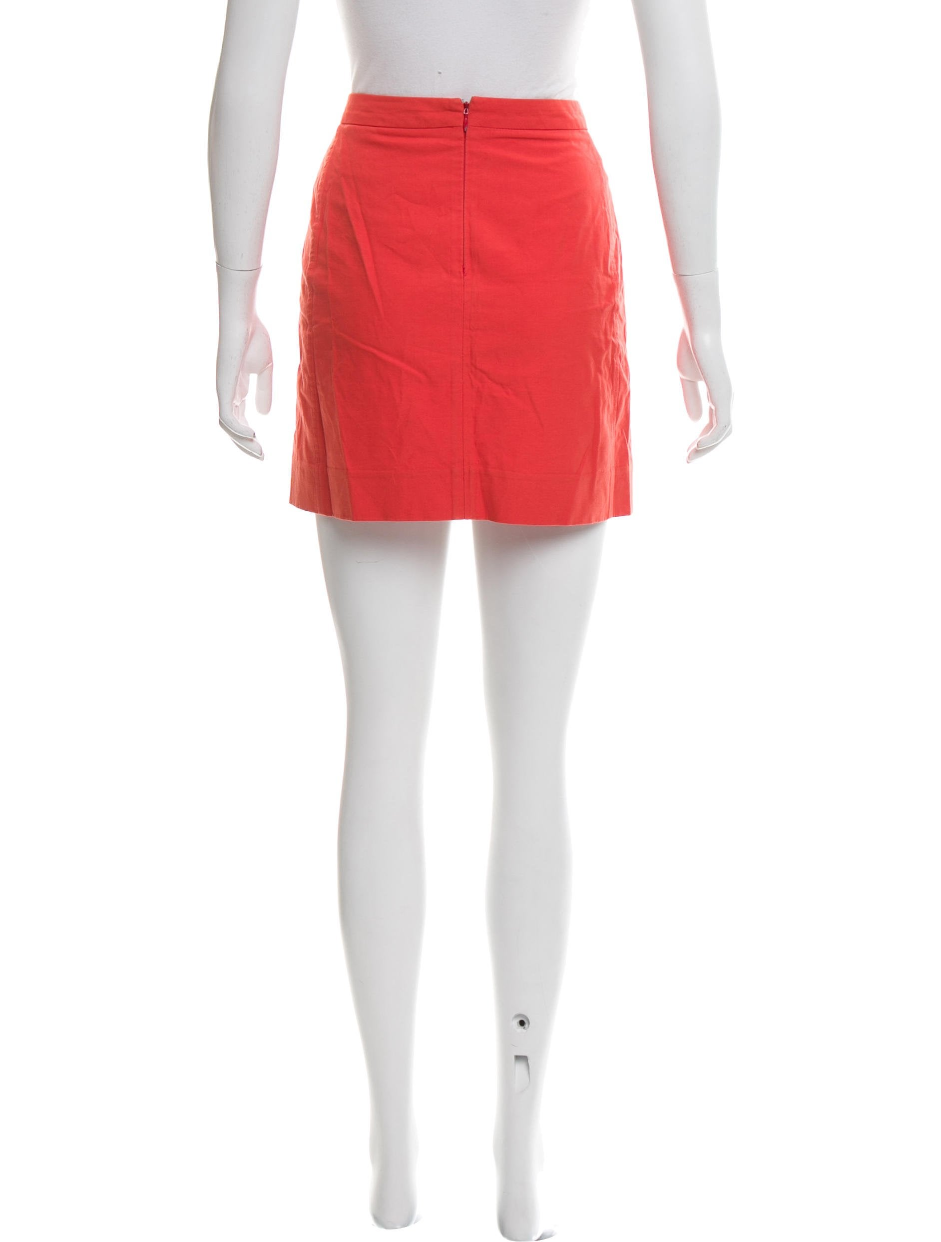 Balenciaga Zip-Up Mini Skirt - Clothing - BAL57318 | The RealReal