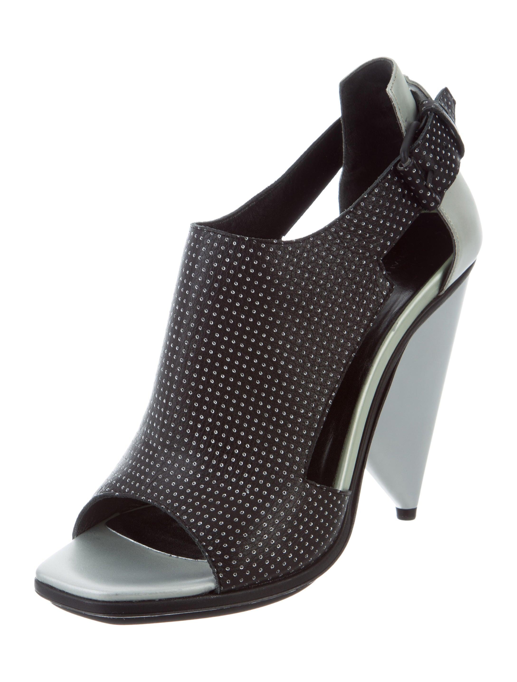 clearance with credit card sale eastbay Balenciaga Polka Dot Geometric Sandals w/ Tags sale fashionable k1sOPnj