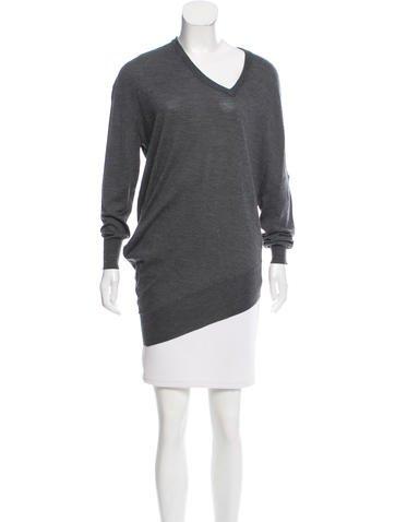 Balenciaga Wool Oversize Sweater None