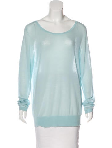 Balenciaga Wool Long Sleeve Sweater None