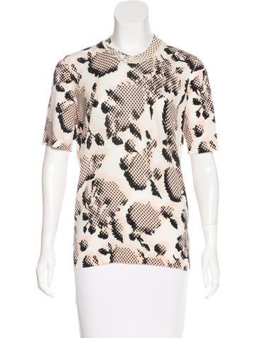 Balenciaga Wool Short Sleeve Top None